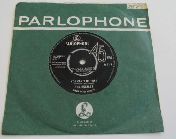 "Beatles (The) CAN'T BUY ME LOVE (ORIOLE CONTRACT PRESS) 1964 UK 7"" NEAR MINT AUDIO"